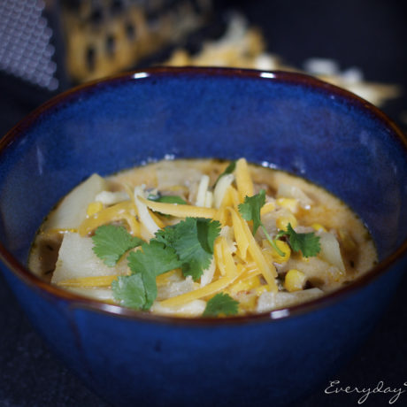Amazing and Easy Chipotle Potato Soup
